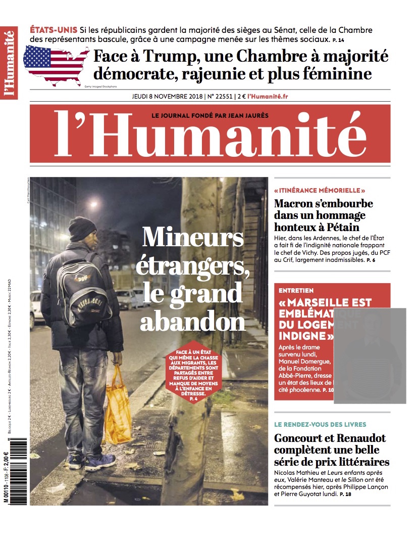 l'Humanité / Cyril Marcilhacy