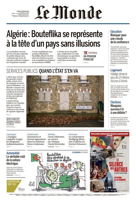 Le Monde / Nicolas Leblanc