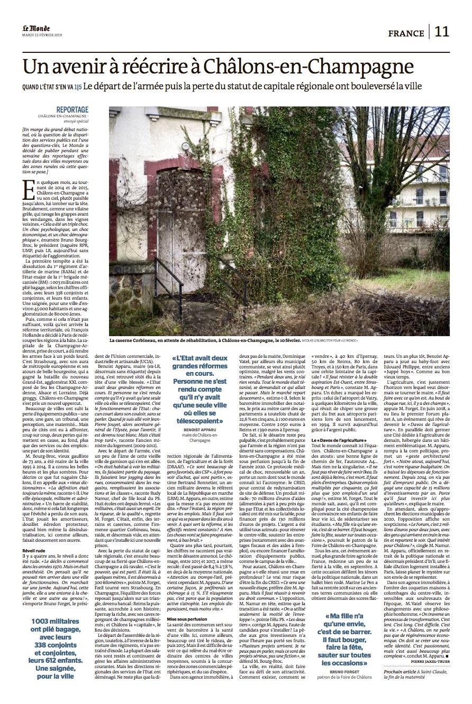 Le Monde / Nicolas Leblanc / Février 2019