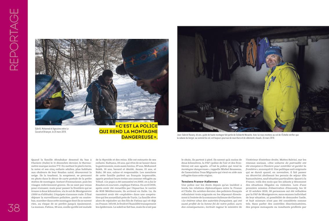 La Chronique / Bertrand Gaudillère / Mars 2019