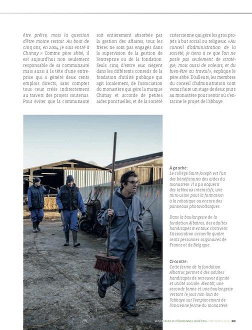 Témoignage chrétien / Cyril Marcilhacy / Printemps 2019