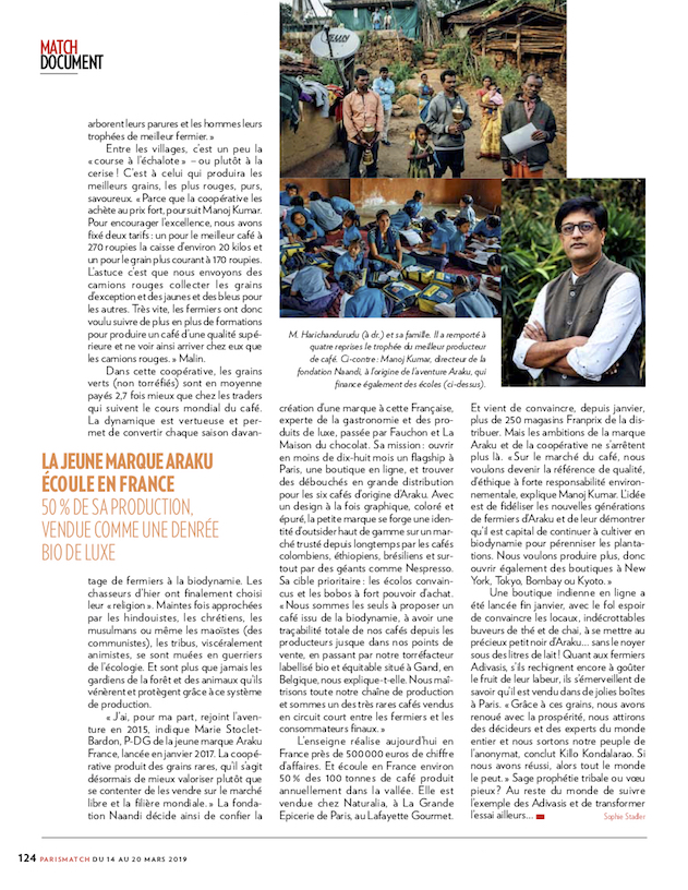 Paris Match / Cyril Marcilhacy / Mars 2019