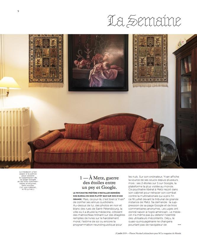 M le Magazine du Monde / Nicolas Leblanc