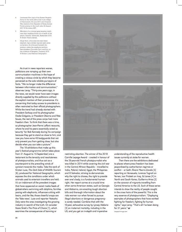 British Journal of Photography / Kasia Strek / Août 2019