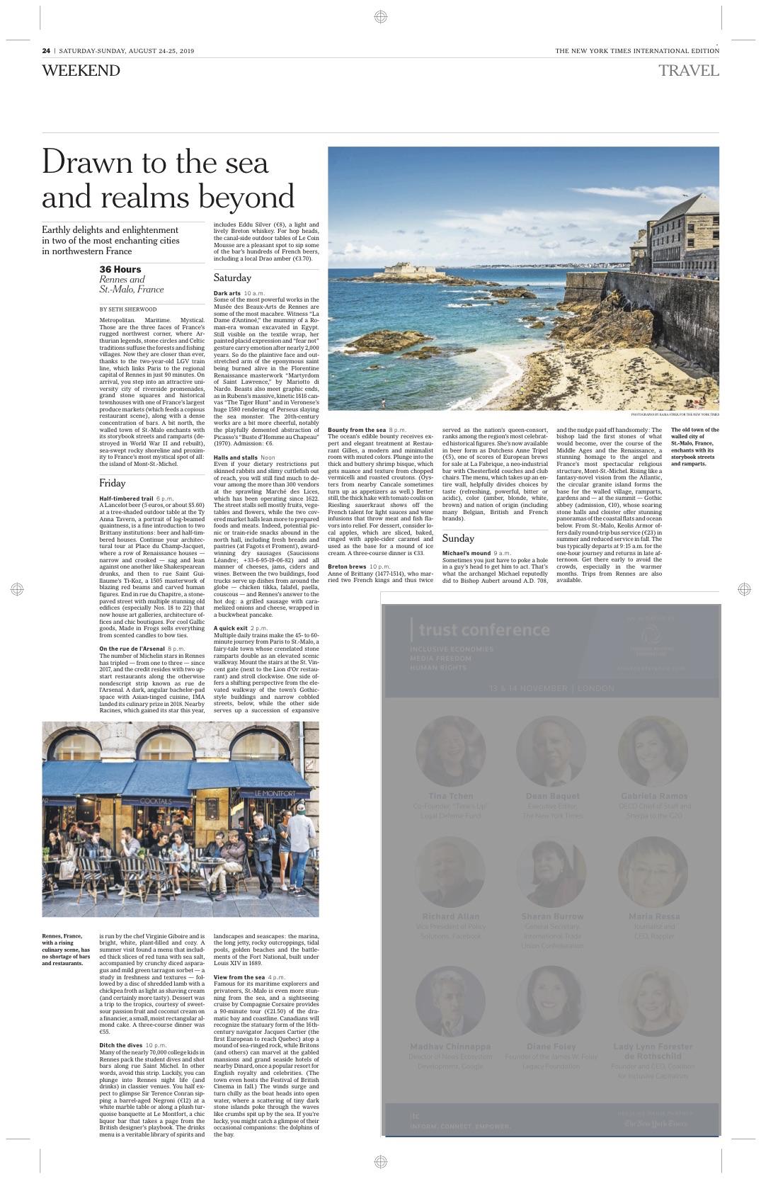 The New York Times International / Kasia Strek