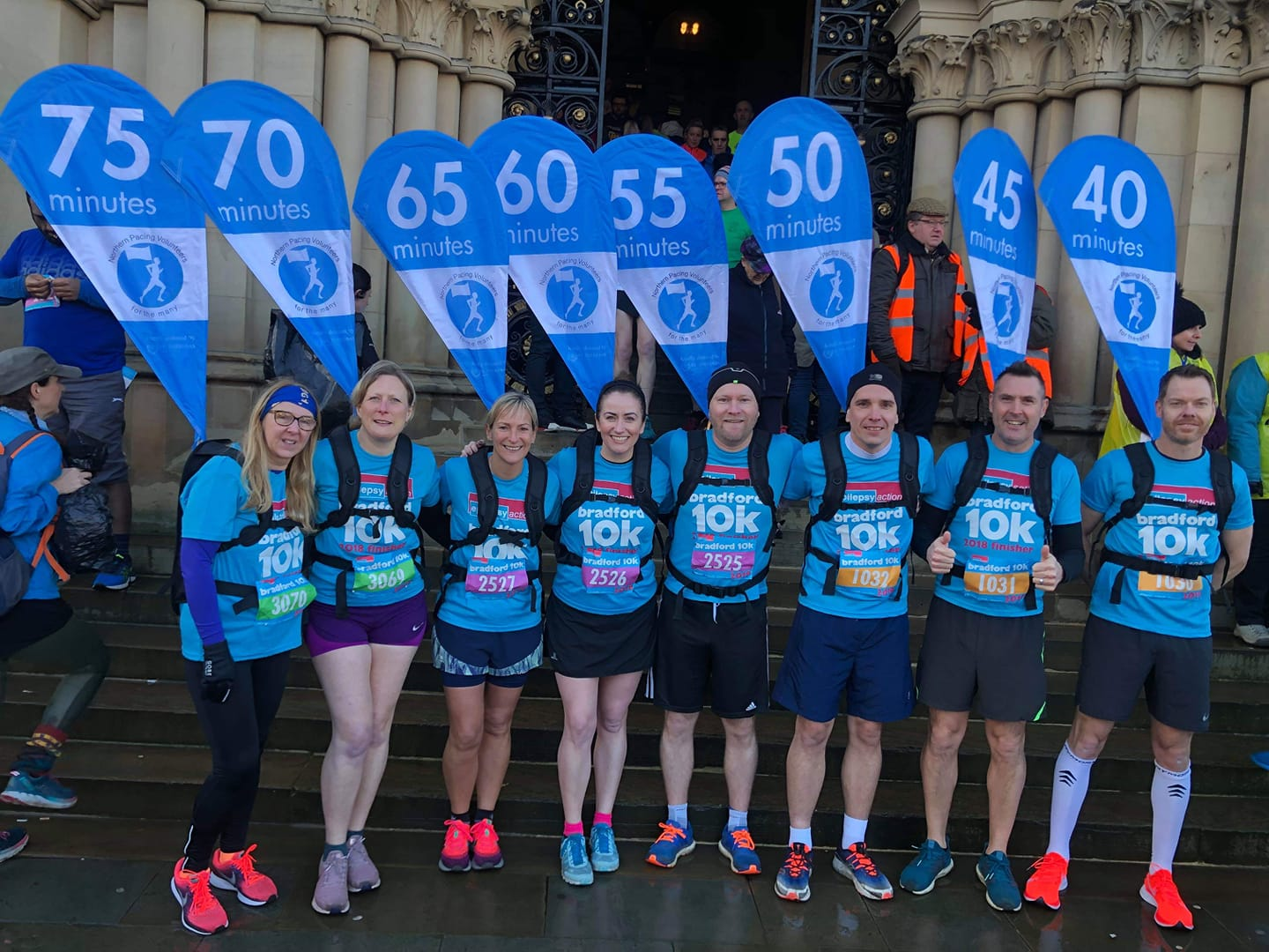 Northern Pacing Volunteers - A big shout out to Northern Pacing Volunteers, who will be pacing 1:10, 1:20, 1:30, 1:40 and 1:50.