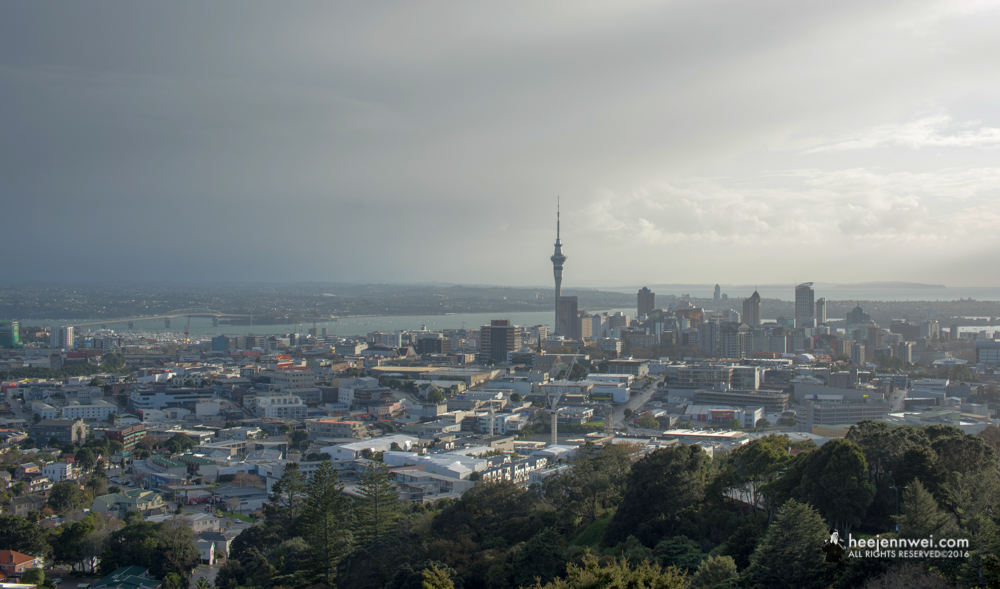 Lookout Point at Mount Eden, Auckland.
