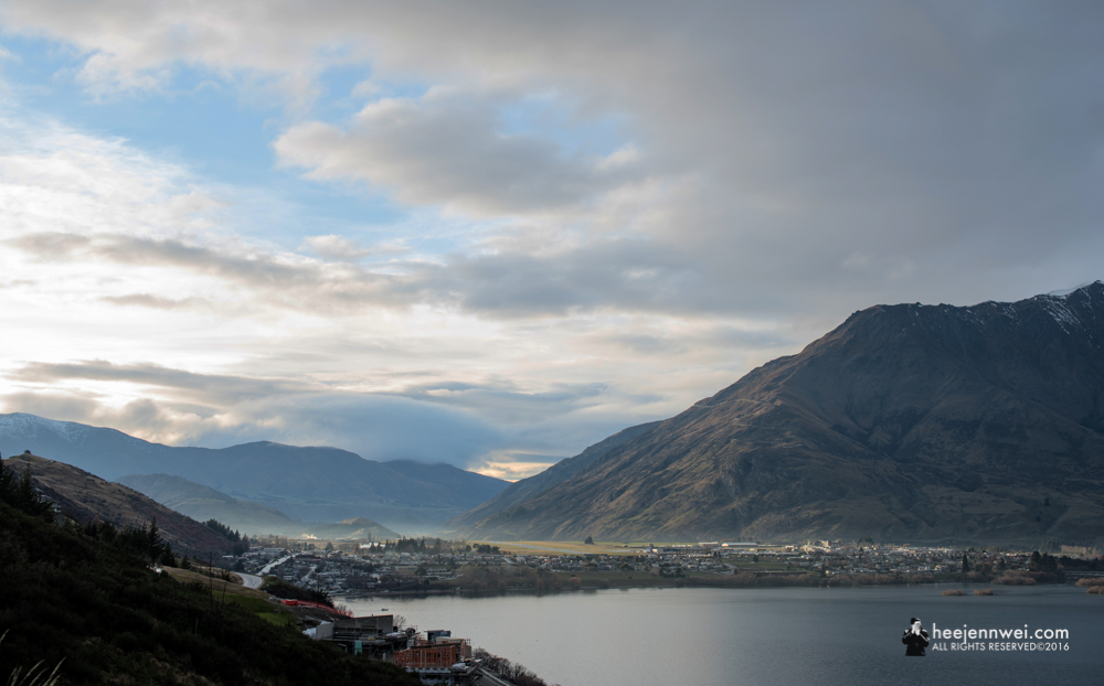 Suburbs of Queenstown City.