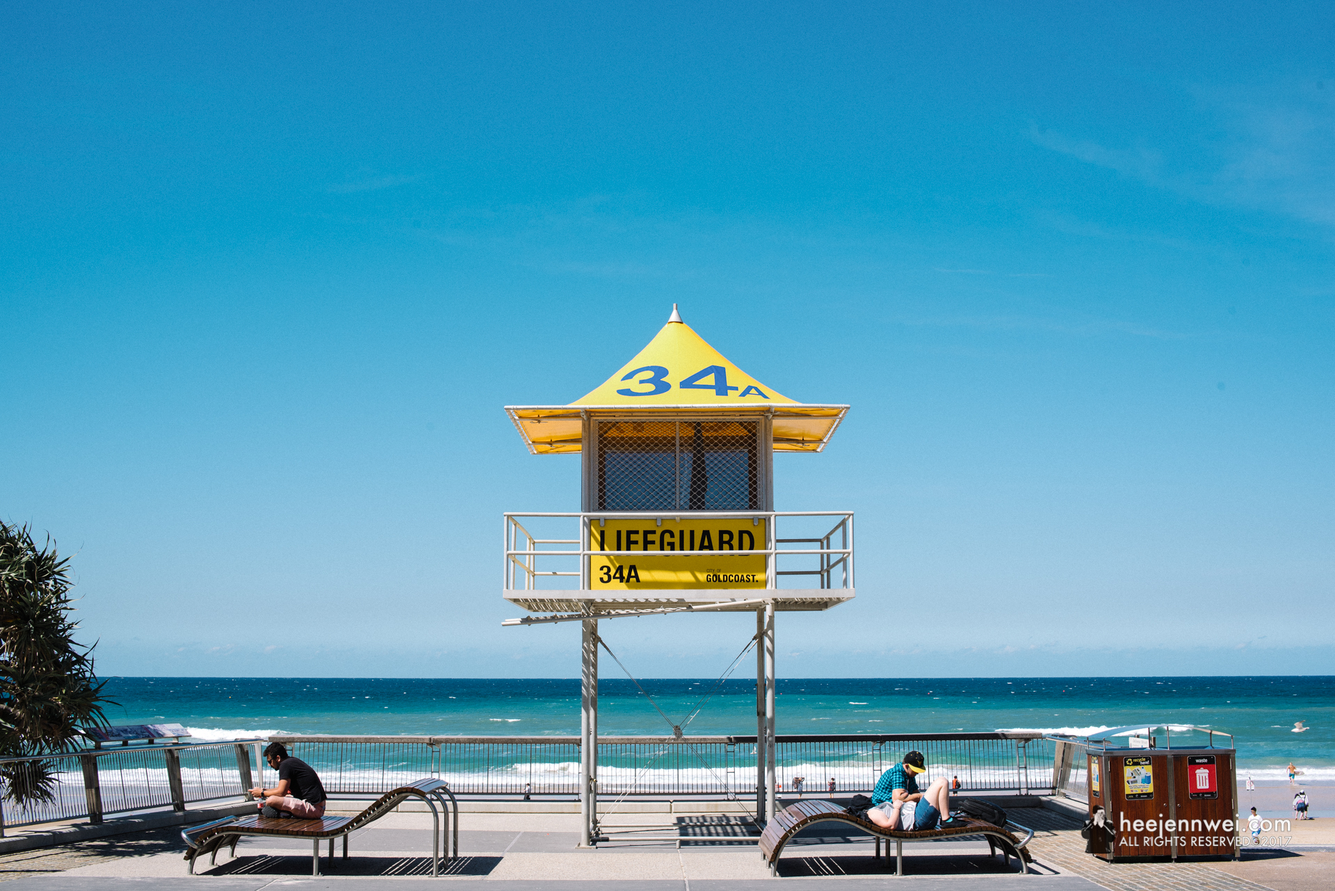 Surveillance tower strategy was initiated back in the days of 1989 for Gold Coast's long stretches of ocean beaches. There are currently 39 specially designed towers, which are numbered and strategically placed along the 60km coastal strip.