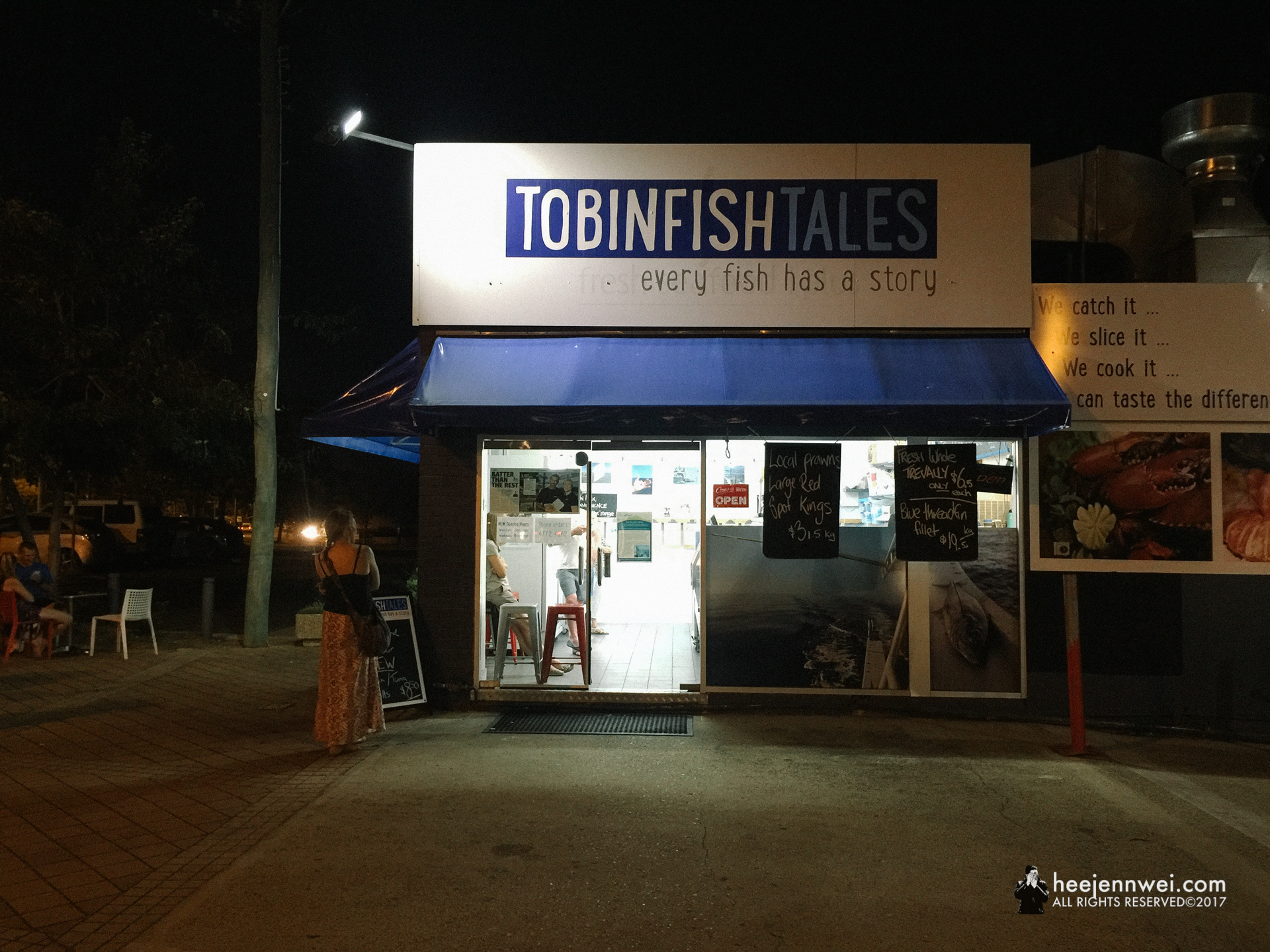 Hands down, one of the best Fish and Chips i've ever had, Tobin Fish Tales. (iPhone photo)