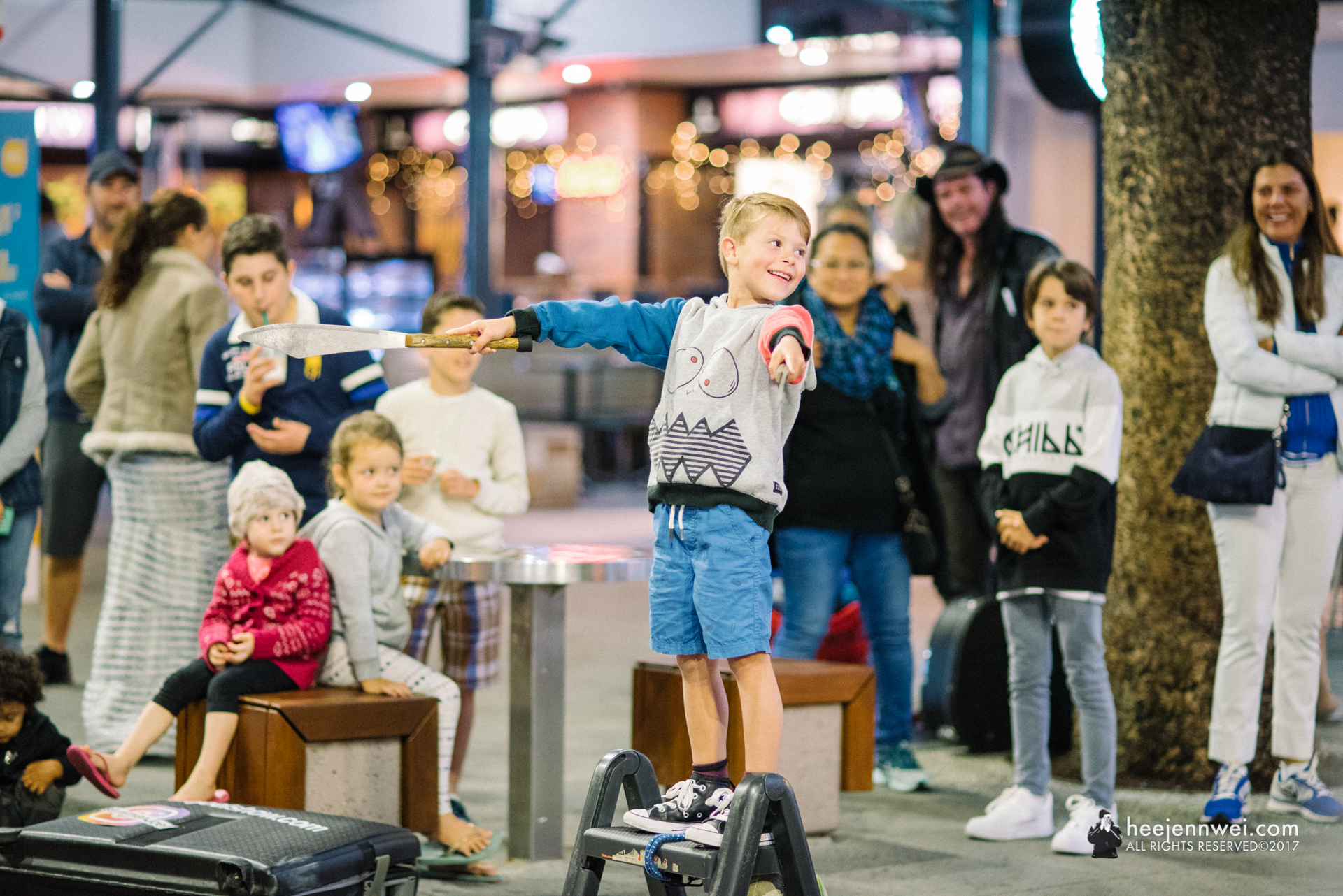 Surfers Paradise is like a cradle to Gold Coast's finest busking and street performance - the epicentre of Queensland's street performing culture. They even host a yearly street entertainment championship at Surfers Paradise.