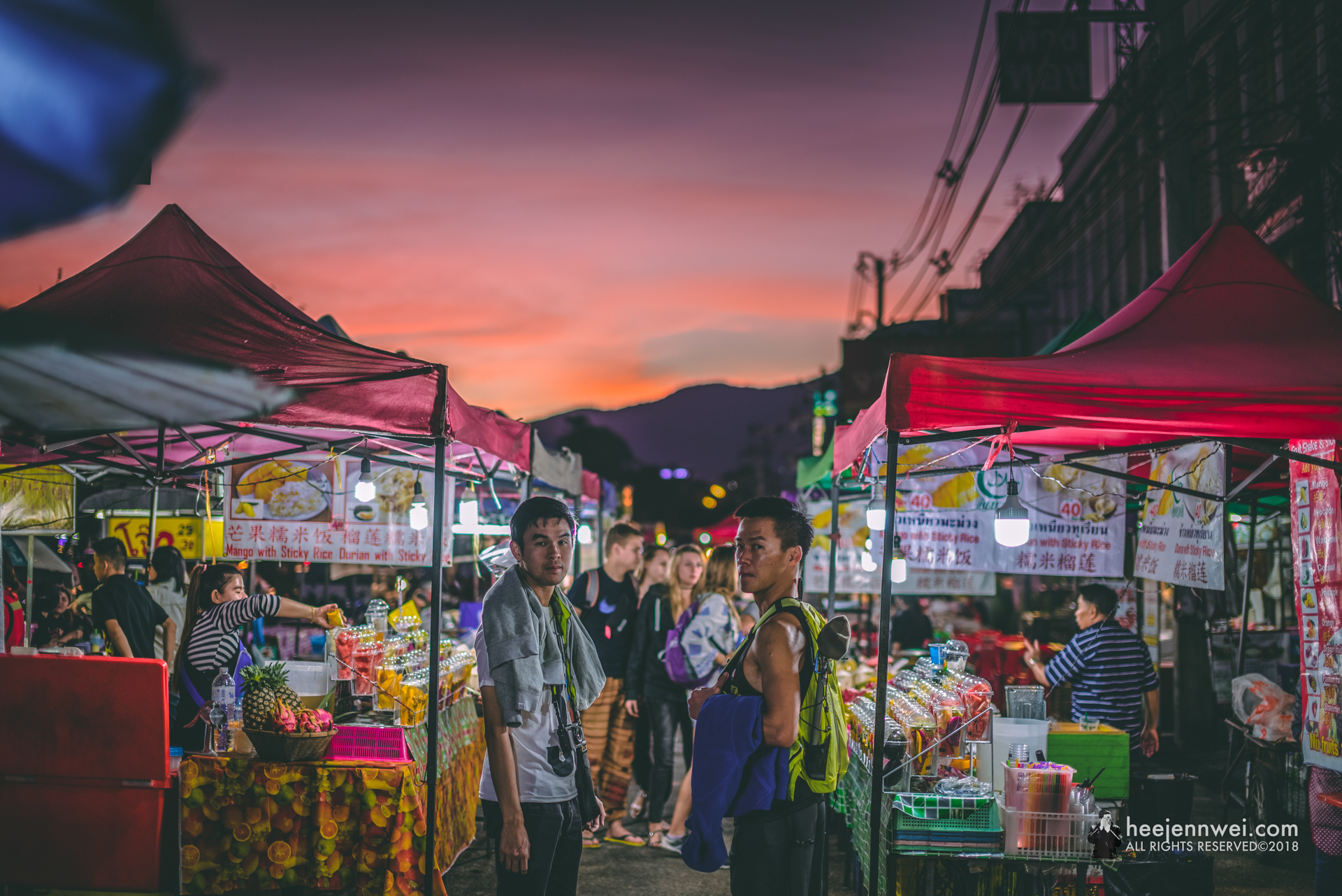 Chang Phueak (Street Hawker Area).
