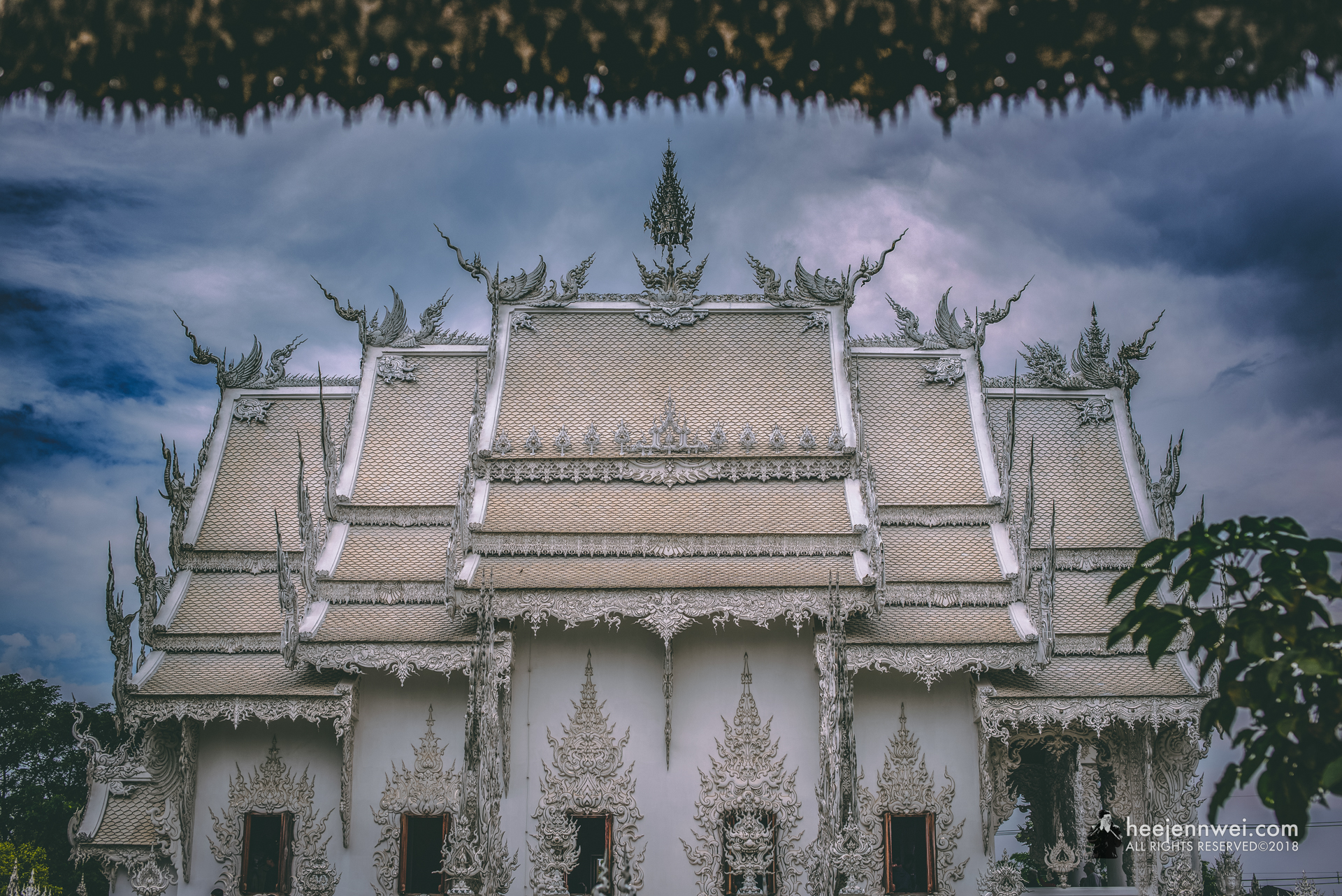 Wat Rong Khun took the fixation with painstaking detail and beauty to the next level.