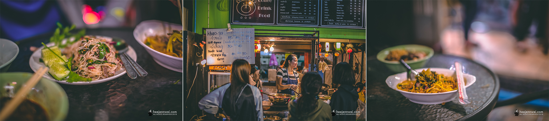 One last try on Khao Soi noodle at the night market.