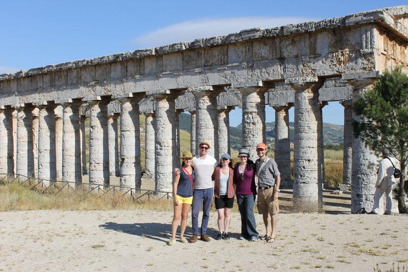 CAM Tour 2013 - Segesta, Sicily.