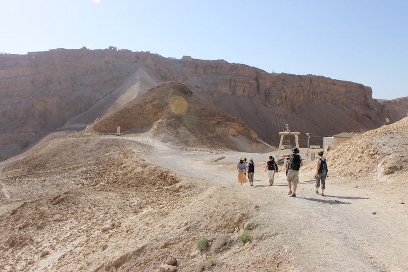 CAM Tour 2014 - Masada, Israel.