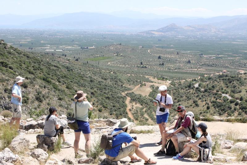 CAM Tour 2015 - Mycenae, Greece.