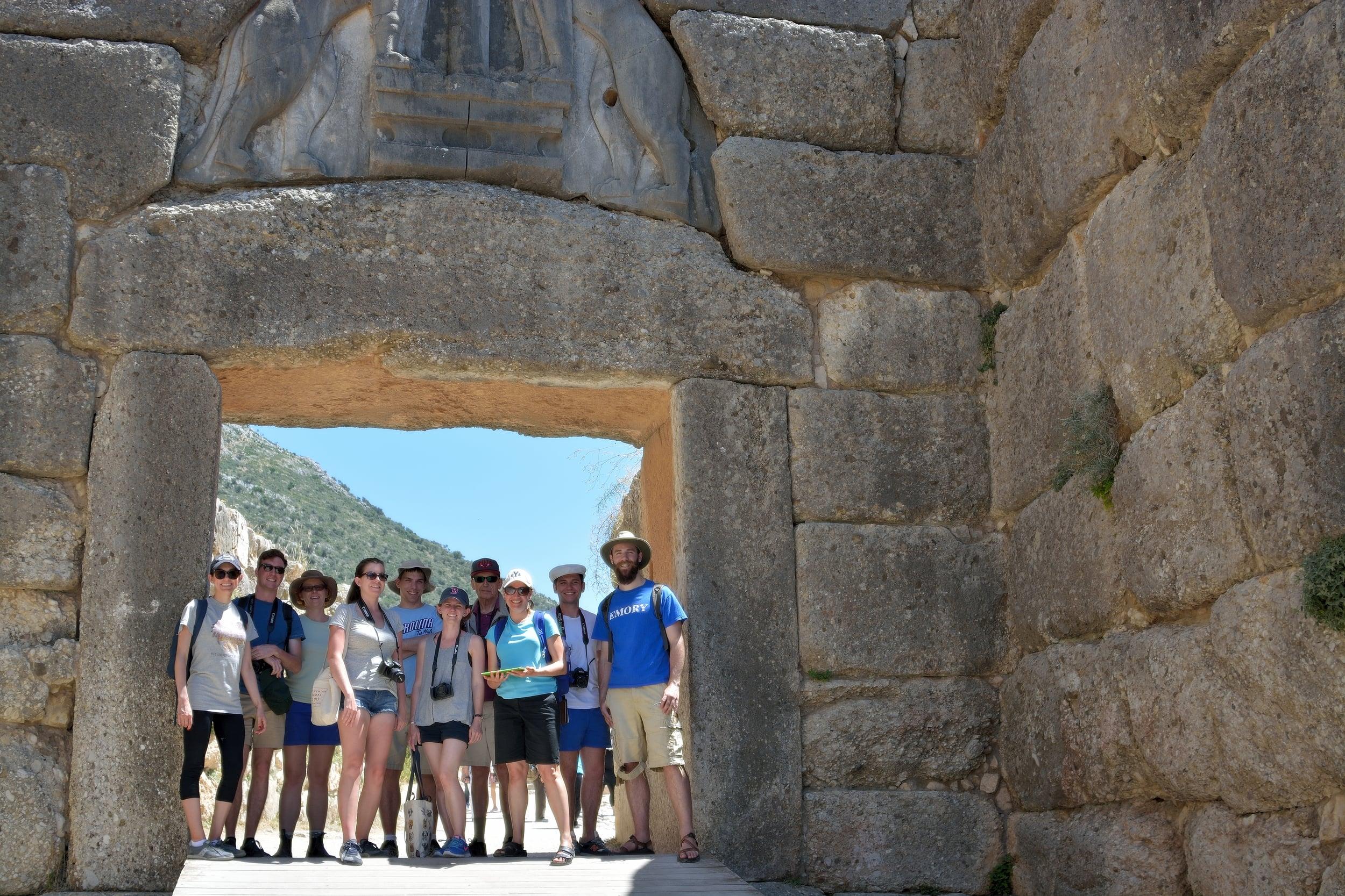 CAM Tour 2015 - Mycenae, Greece