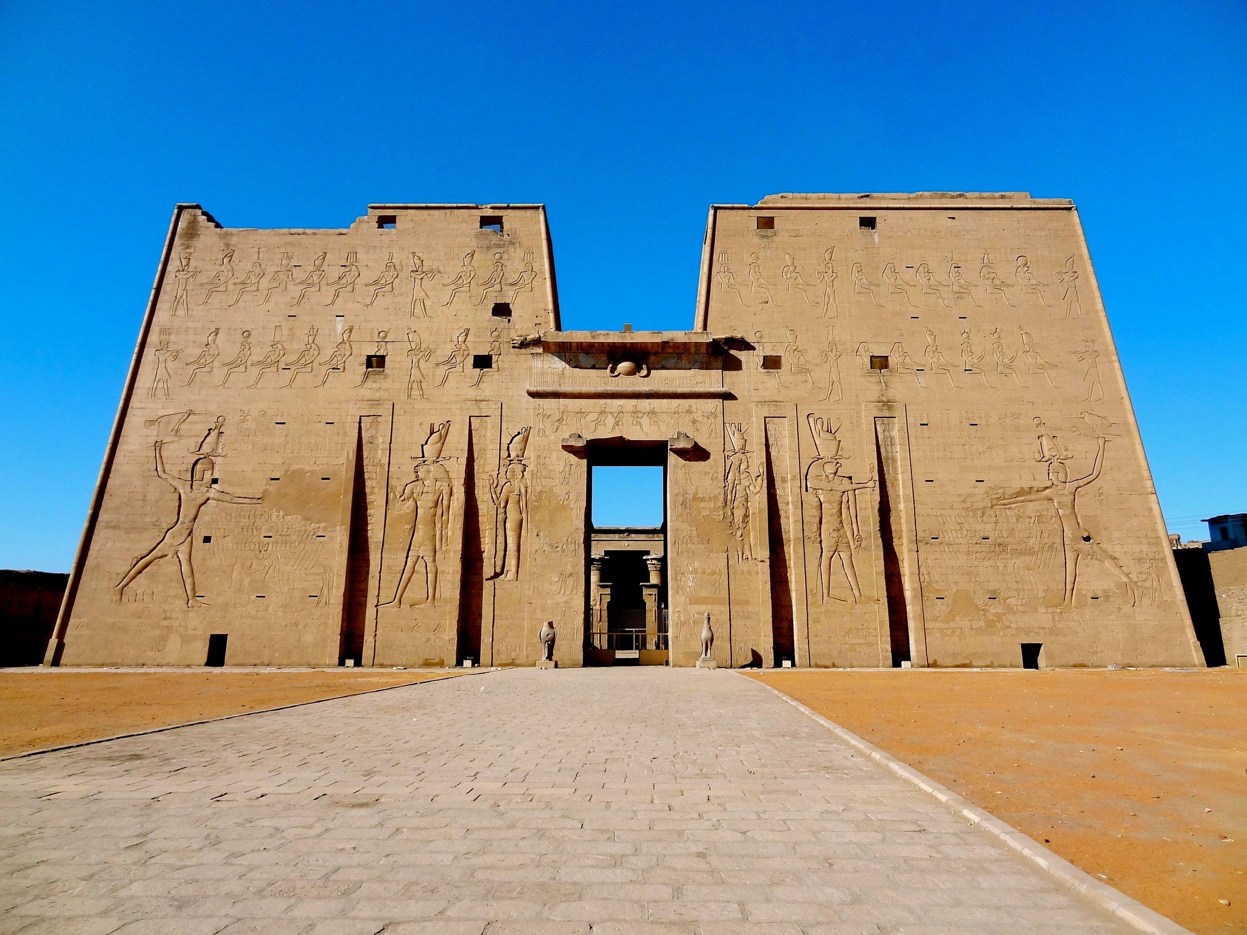 Edfu Temple Pylon