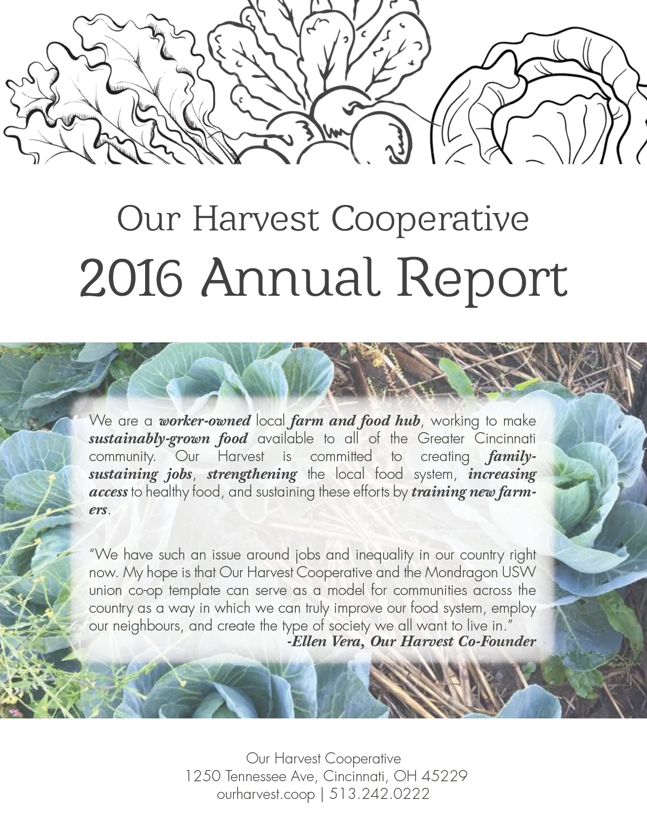 Our Harvest 2016-2017 Annual Report