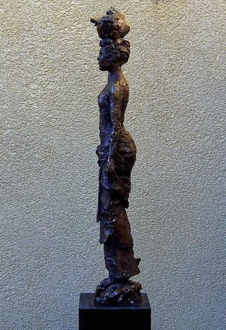 Afrikaanse Vrouw, hoogte 42 cm.JPG
