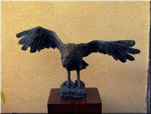 Arend, Brons hoogte 52 cm.JPG