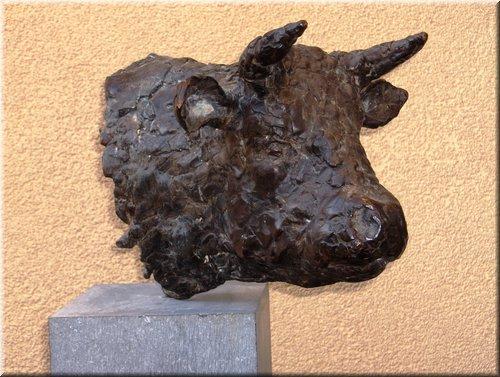 Kop stier, Brons hoogte 24 cm (2).JPG