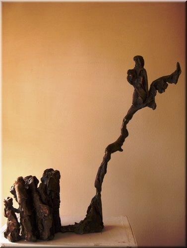 Mozes op de berg, hoogte 58 cm.JPG