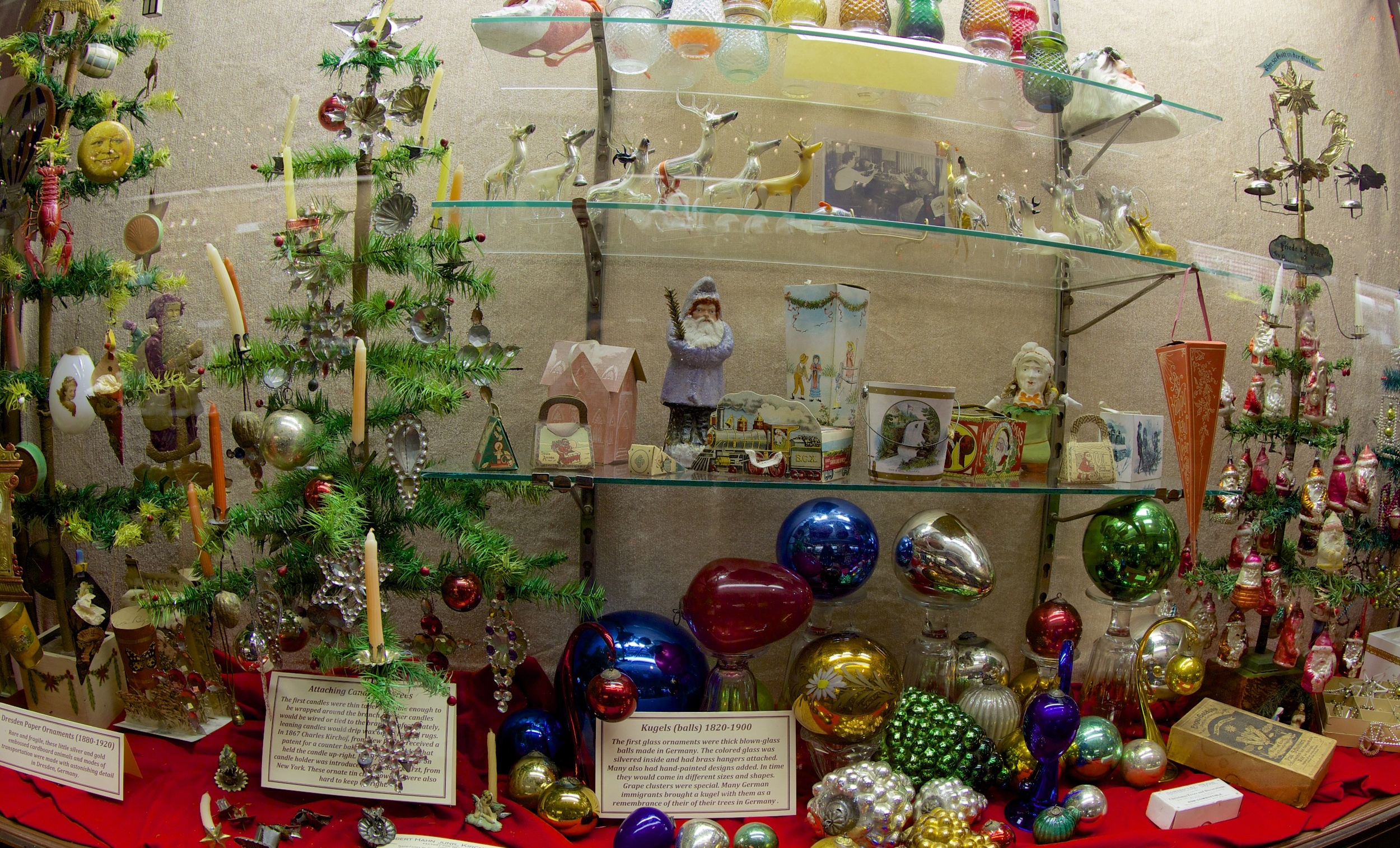 """Figure 6: According to Jim Morrison, """"All the decorations here at the museum, other than the ones we have made ourselves, have been in someone else's home at Christmastime."""""""