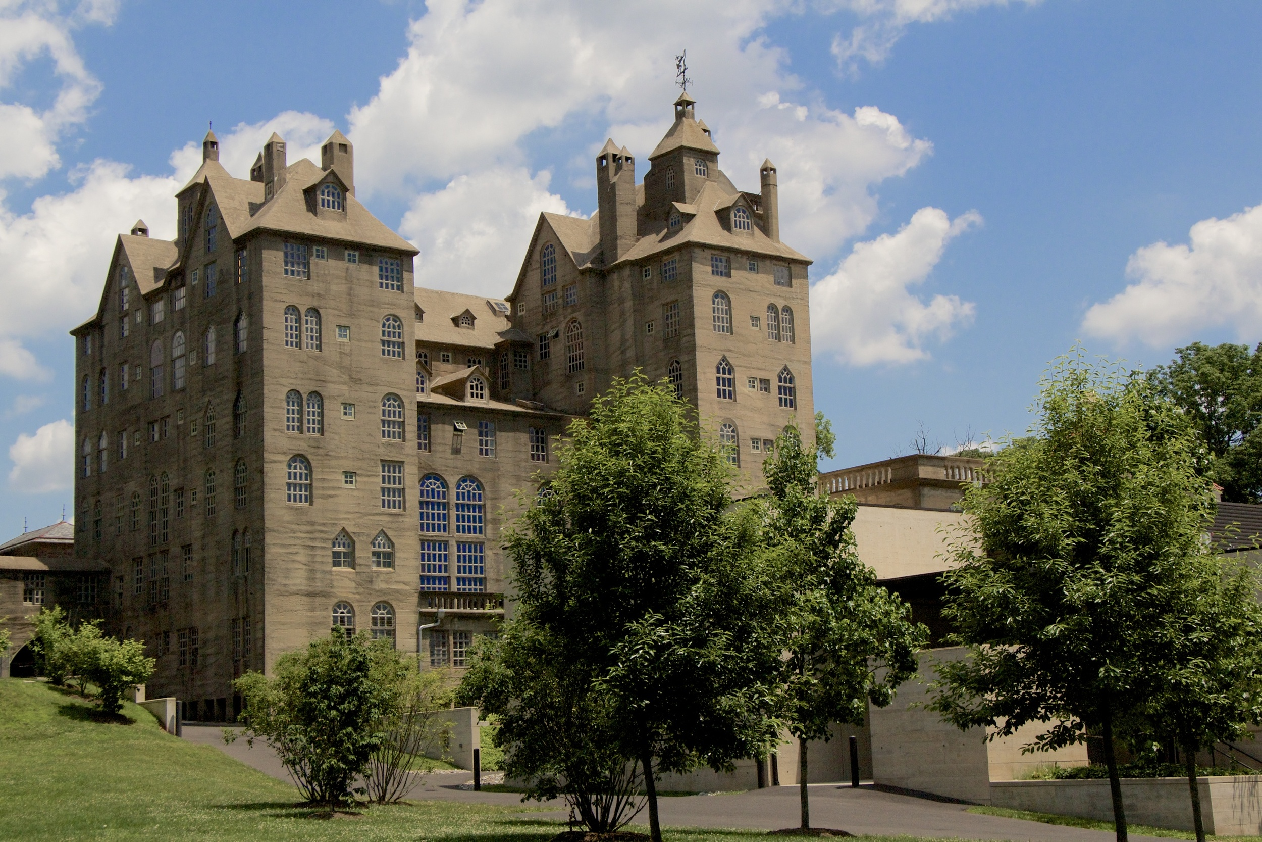 Figure 4: Mercer Museum in Bucks County, Pennsylvania. Photograph by Ed Gyllenhaal.
