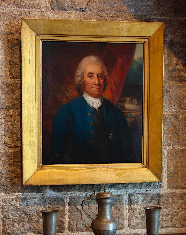 Portrait of Emanuel Swedenborg (1688-1772) by Swedish artist Carl Fredrik von Breda (1759–1818).