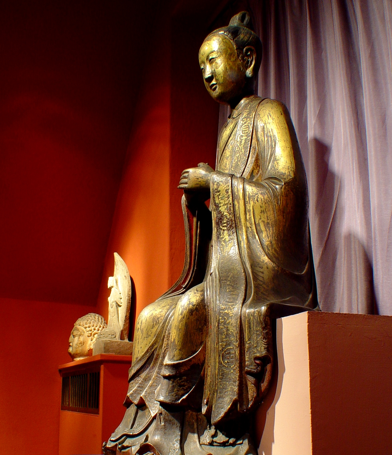 Taoist dignitary from the Ming Dynasty (1368-1644 AD).