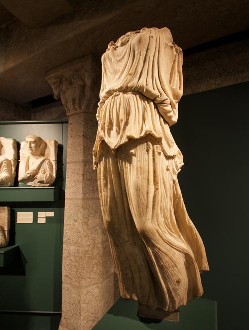 Statue of Minerva Victoria in the Roman Gallery