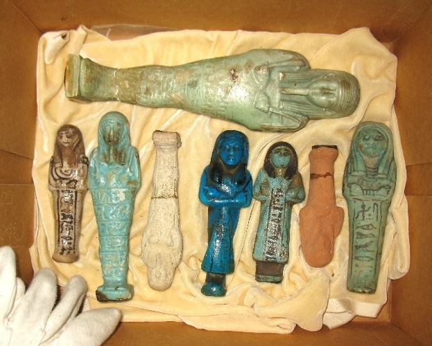 Shabtis (Funerary Statuettes) from the Lanzone Collection
