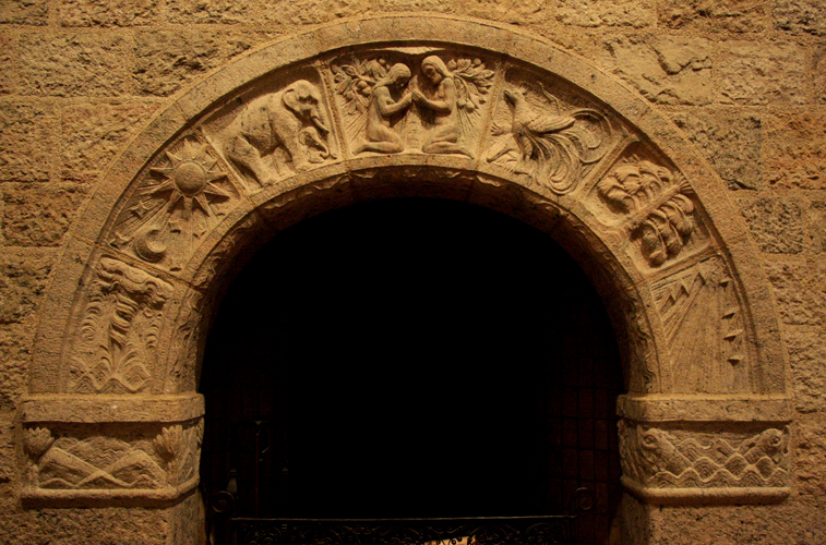 "Glencairn ""Days of Creation"" Fireplace Arch"