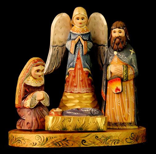 Russian Nativity from Sergiev Posad