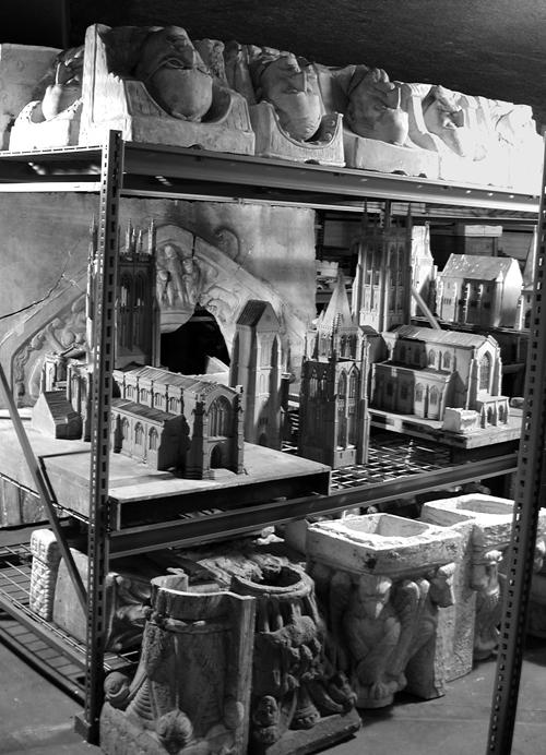Glencairn Museum Storage for Plaster Models