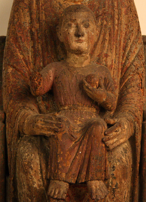 Detail of Christ Child