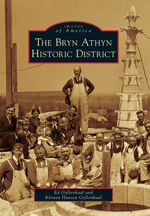 Cover of  The Bryn Athyn Historic District  published in May, 2011.