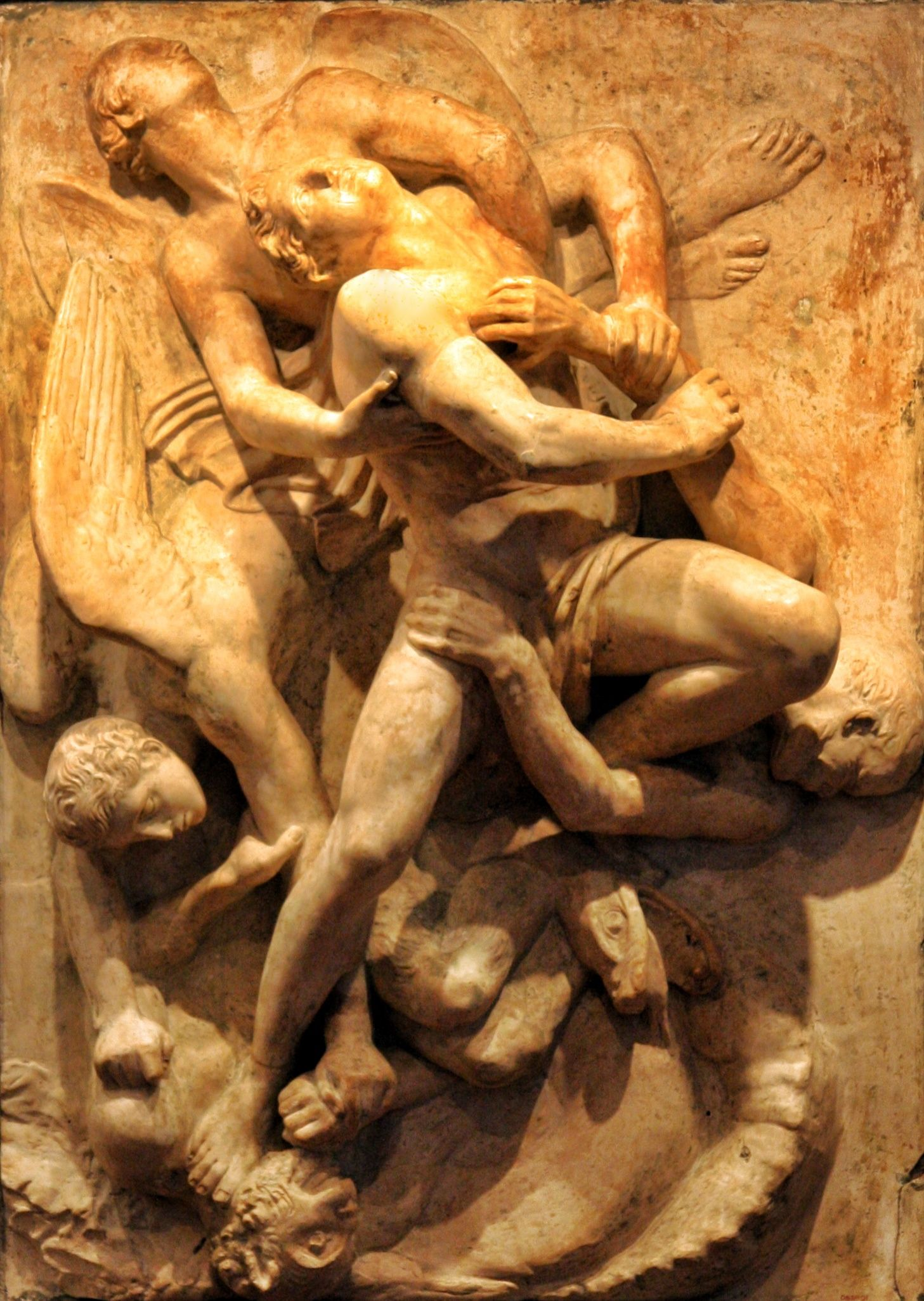 """""""Deliver Us from Evil,"""" John Flaxman"""