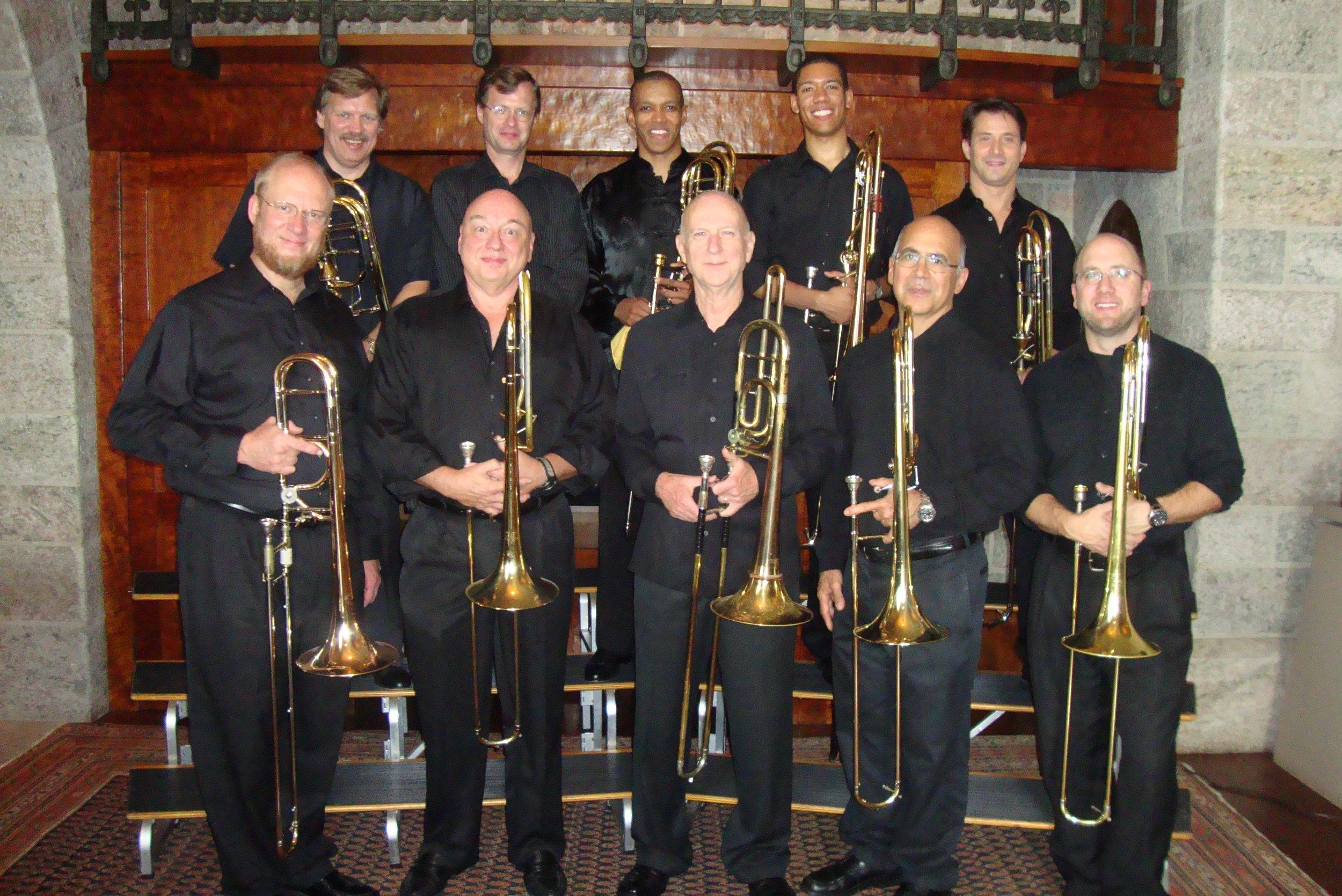 Posaune Decuple at their 2011 Glencairn concert.