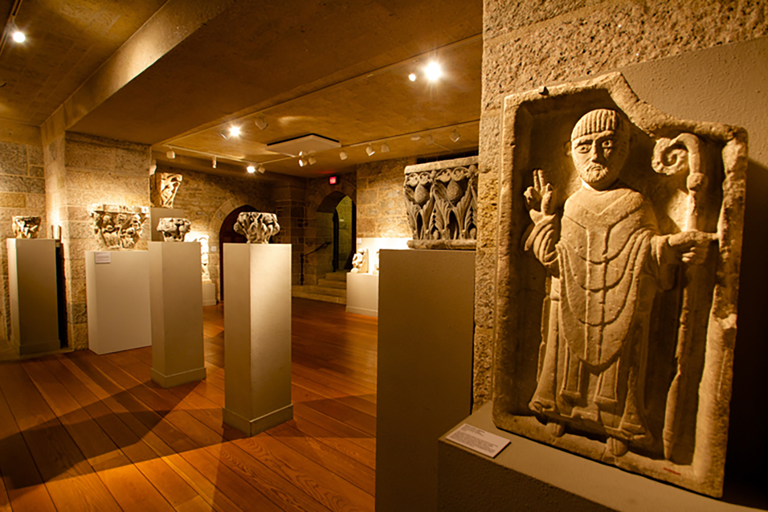 A view of Glencairn's Medieval Gallery.