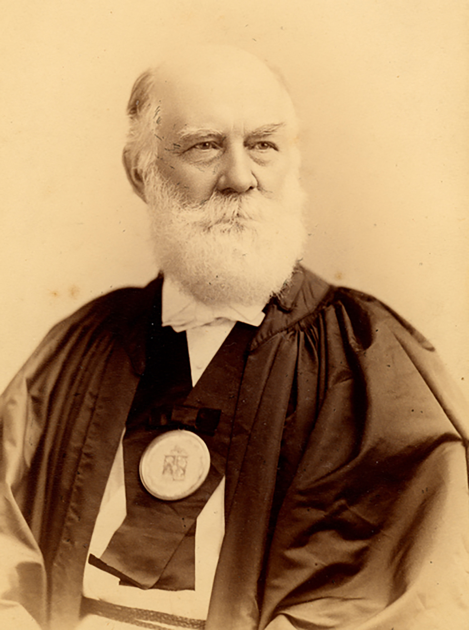 Figure 1: William Henry Benade (1816-1905). Photograph courtesy of the Glencairn Museum Archives.