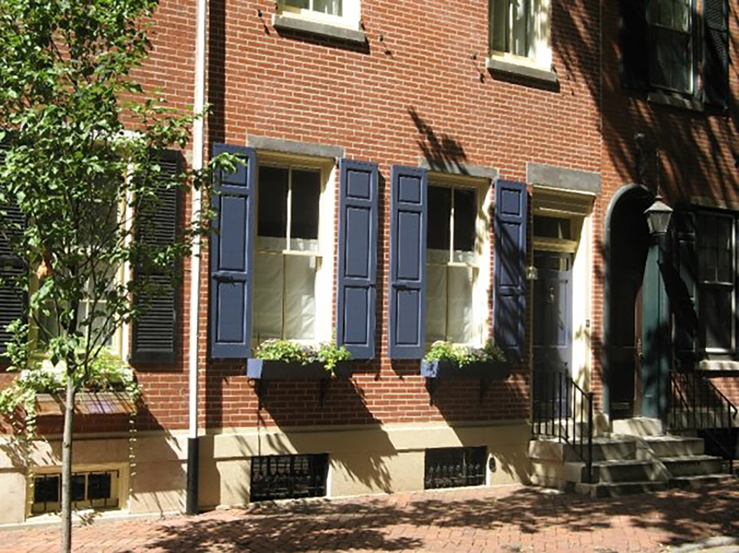 Figure 7: The first home of the Academy's Egyptian collection, on Friedlander Street in Philadelphia.