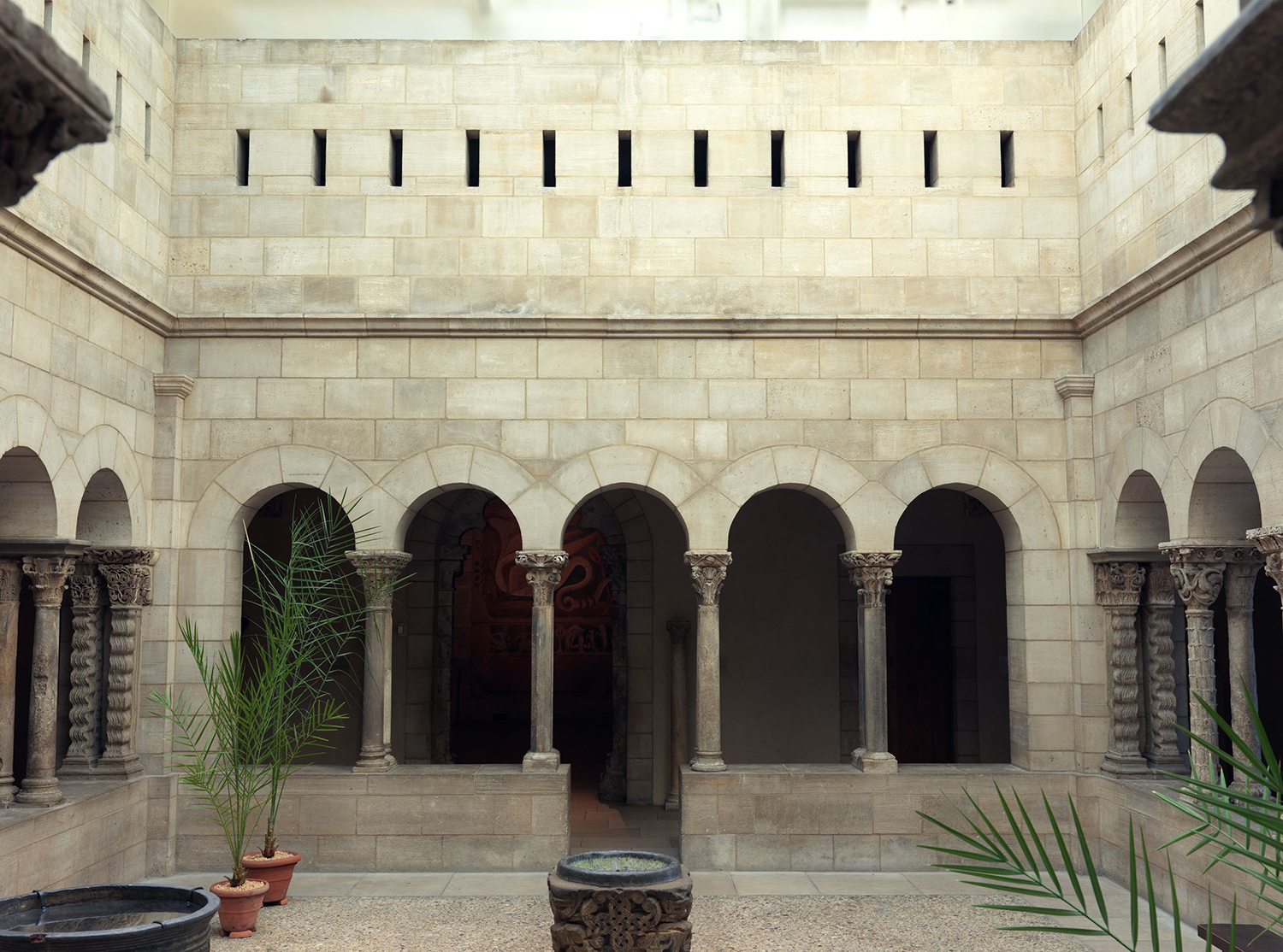Figure 4: View of the Saint-Guilhem Cloister at the Cloisters Museum in New York City. From the Benedictine monastery of Saint-Guilhem-le-Desert, near Montpelier, France, late 12th–early 13th century. Image © The Metropolitan Museum of Art, New York.