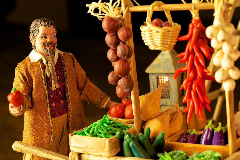 Figure 6: The fruit seller looks very familiar, having been designed by Karen to look like Michael.