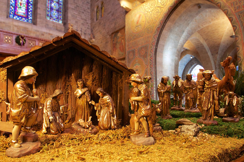 Figure 2: Nativity from Ecuador: Mepkin Abbey Collection.