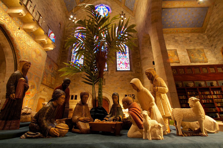 Figure 3: Sisters of Bethlehem Nativity: Mepkin Abbey Collection.