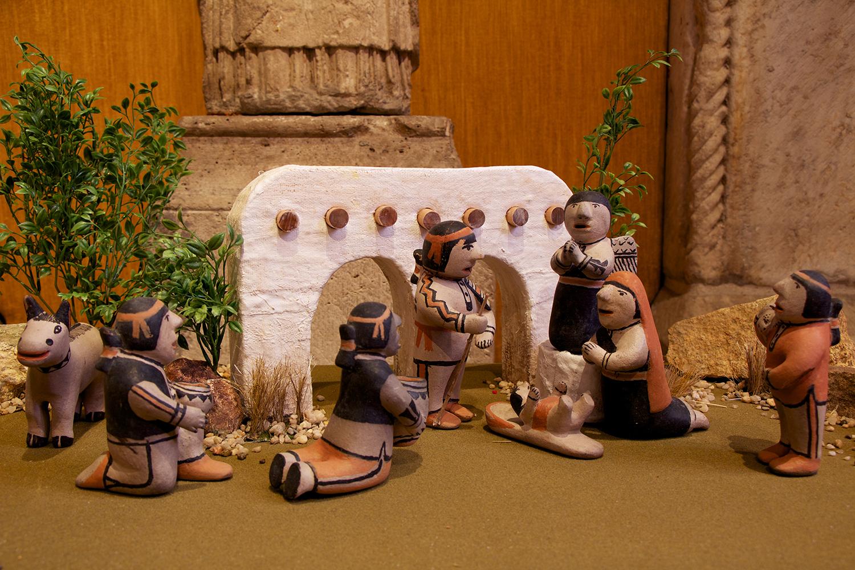 Figure 7: Conchiti Pueblo Nativity: Mepkin Abbey Collection.