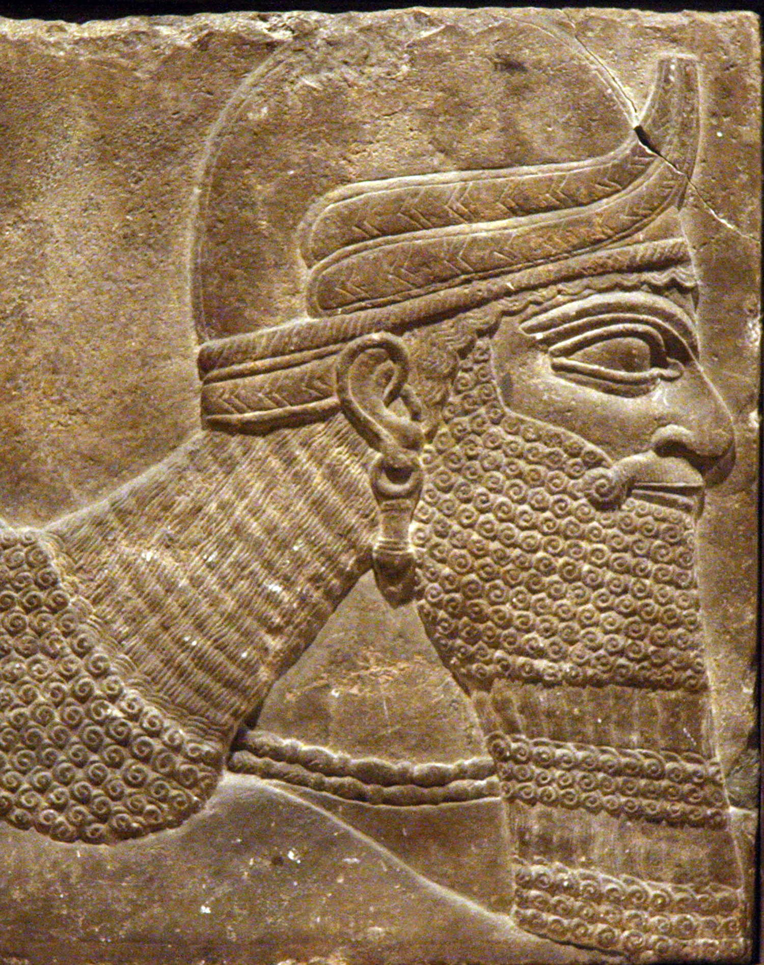 Figure 4: Head of a genie (09.SP.1550).